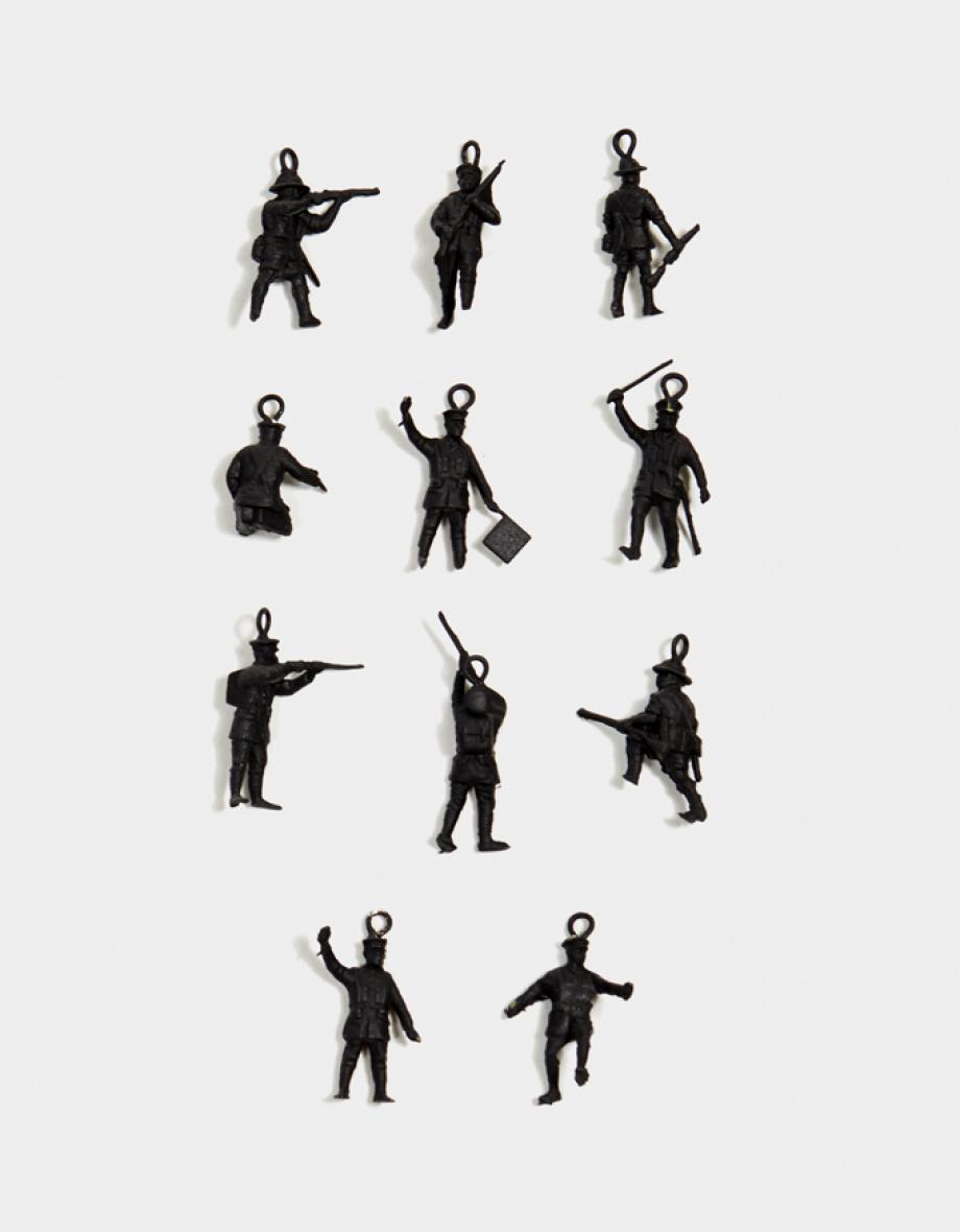 mini heart warriors - black