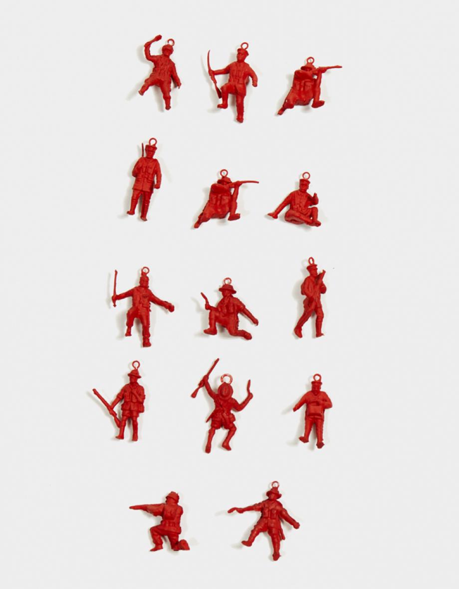 mini heart warriors - red